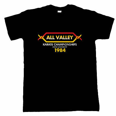 $19.21 • Buy All Valley Karate Kid Movie Inspired, Mens T-Shirt - Gift Him Dad