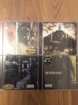 CYPRESS HILL Black Sunday 3 Temples Of Boom The Psycho Realm RARE CD • 14.99£