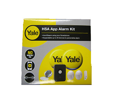 YALE HSA6610 APP Enabled SMART WiFi Alarm Smartphone Control 2 Year Warranty NEW • 159.96£