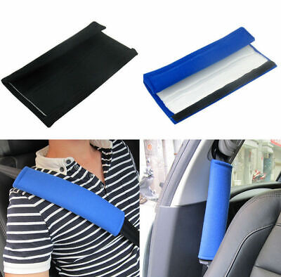 4x Car Seat Belt Pads Harness Safety Shoulder Strap Cushion Covers Kids Children • 4.71£