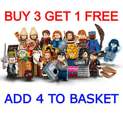 LEGO 71028 LEGO HARRY POTTER SERIES 2 (Pick Your Minifigure) Buy 3 Get 1 Free!! • 5.95£