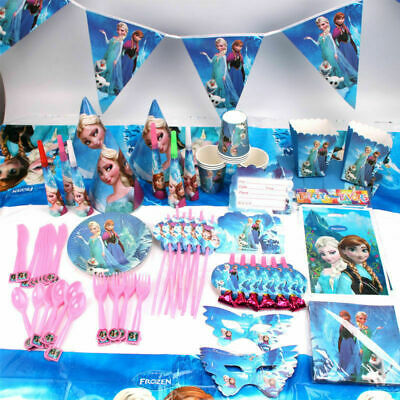 Elsa & Anna Frozen Party Supplies Decorations Birthday • 3.69£