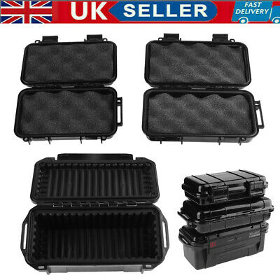 £12.29 • Buy Outdoor Shockproof Sealed Waterproof Safety Case ABS Plastic Tool Safety Dry Box