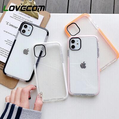 Clear Protective Case For IPhone 11,Pro Max XR XS Max 7 8 Plus XS MAX SE Cover • 3.45£