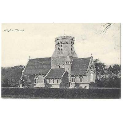 HOPTON ON SEA St Margaret's Church, Old Postcard Unused • 3.95£