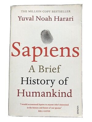 AU23.36 • Buy Sapiens: A Brief History Of Humankind. By Yuval Noah Harari. (Paperback, 2015)