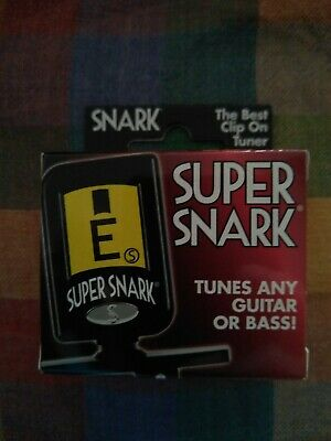 $ CDN28.15 • Buy Snark Super Snark Model G Clip-On Tuner Guitar Bass Ukulele