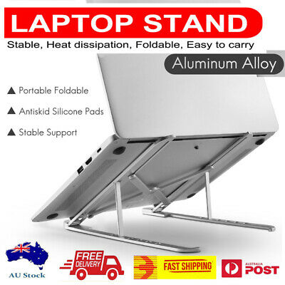 AU24.95 • Buy 2020 New Arrival Adjustable Aluminium Laptop Stand Tablet Stand Foldable Mel/AU