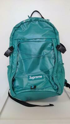 $ CDN420.74 • Buy Supreme FW17 Teal Backpack Fast Free Shipping From Japan With Tracking ! (6509N)