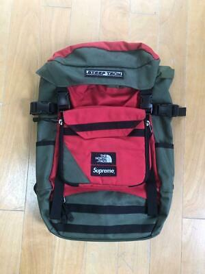 $ CDN444.89 • Buy Supreme X North Face Steep Tech Backpack Green X Red Free Shipping Fr JPN(6519N)