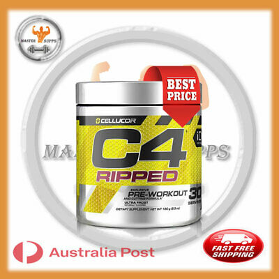 AU46.99 • Buy Cellucor C4 Ripped Pre-workout Fat Burner 30 Serve Shred Fat