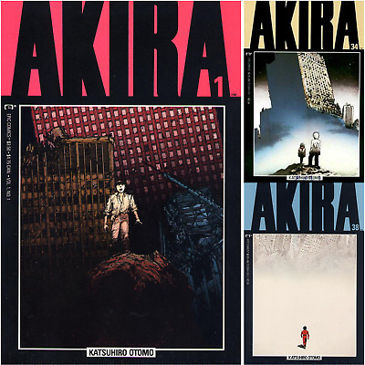 $ CDN63.10 • Buy Akira U PICK Comic 1 2 3 4 5 6 7 8 9 10 11 12 13 14 15 16 17 18 19-38 1988 Epic
