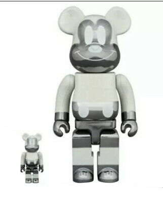 $699.99 • Buy BE@RBRICK DISNEY MICKEY MOUSE FRAGMENT 100% 400% BEARBRICK Reverse Ver *In Hand*