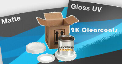 AU135 • Buy 2K Pack Clear Coat High Gloss Or Matte Version