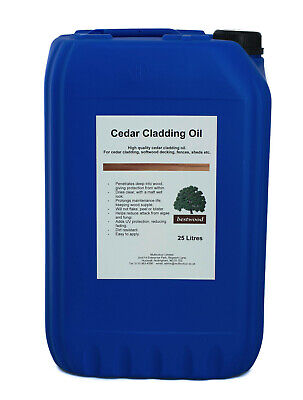 £63 • Buy Cedar Cladding Oil, Bestwood, 25 Litre 25L, Professional Clear Protection, UV
