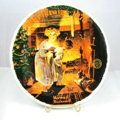 $ CDN32.88 • Buy Norman Rockwell Collector Plate Christmas 1979 Somebody's Up There Knowles