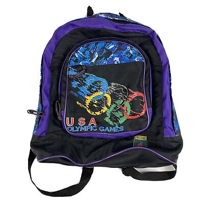 £25.41 • Buy Atlanta Olympic Games 1996 Authentic Collection Backpack RARE Vintage
