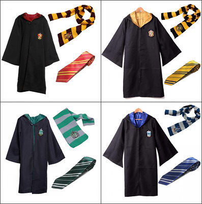 AU29.82 • Buy Harry Potter Gryffindor Cape Cloak Tie Scarf Carnival Cosplay Party Costume AU