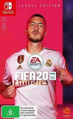 AU34.50 • Buy Brand New Ea Sports Fifa 20 2020 Legacy Edition For Nintendo Switch Orig Aus Ver