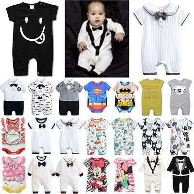 AU18.90 • Buy Infant Baby Toddler Kids Romper Jumpsuit Boy Girl Casual Playsuit Clothes Outfit
