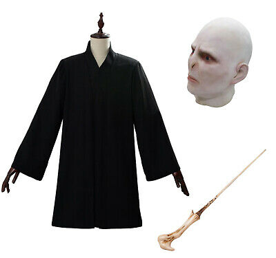 £12.64 • Buy Cosplay Lord Voldemort Adult Male Cape Costume Party Halloween Suit