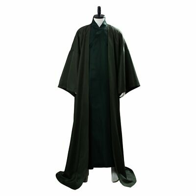 £52.07 • Buy Lord Voldemort Cosplay Costume Green Cloak Robe Outfit Uniform