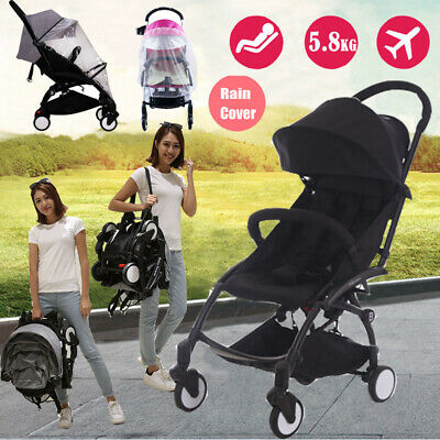 AU119.89 • Buy Foldable Infant Baby Stroller Pram Compact Lightweight Travel Carry-on Plane