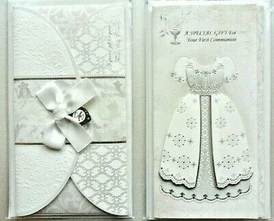 1st First Holy Communion Gift Money Wallet Card. Card For Money/ Cheque/ Tokens  • 3.95£
