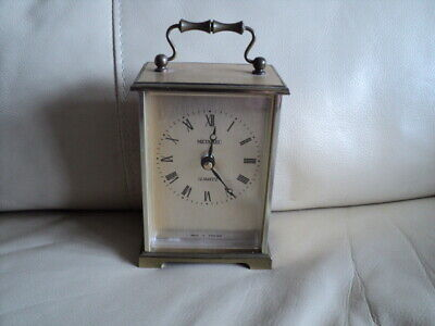 Vintage METAMEC Mantel Carriage Clock Quarts Movement Made In England Working • 12.99£