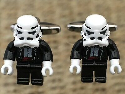 Star Wars Stormtroopers Cufflinks...brand New...nice Men / Womens  Gift • 4.75£