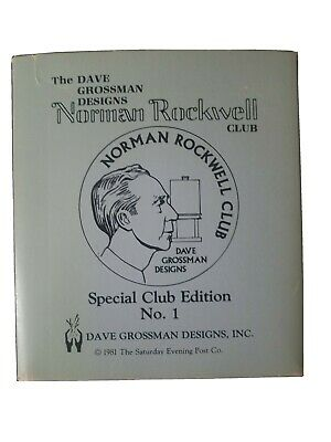$ CDN118.36 • Buy Norman Rockwell Figurines Dave Grossman