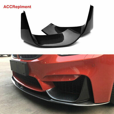 AU395.56 • Buy Carbon Fiber Front Bumper Lip Spoiler Body Kits Fit BMW 3 Series F30 F35 12-18