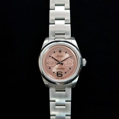 AU5475 • Buy Rolex Oyster Perpetual 31mm Automatic Watch 177200 Pink Dial + Box/papers #50881