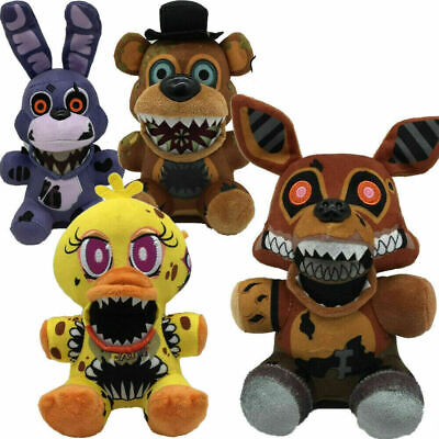AU39.99 • Buy 5PCS Five Nights At Freddy's The Twisted Ones Chica Bonnie Foxy Plush Doll Toy L