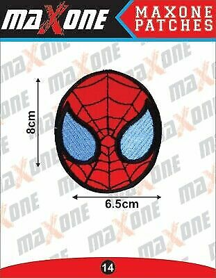 £2.20 • Buy SPIDER-MAN MARVEL EMBROIDERED Iron On / Sew On PATCH 8cm X 6.5cm UK Seller