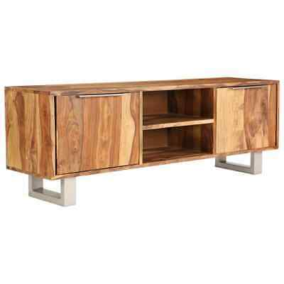 AU210.95 • Buy Solid Wood TV Cabinet Sideboard HiFi Storage Stand Entertainment Unit Furniture