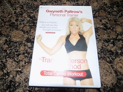 DVD  THE TRACY ANDERSON METHOD TOTAL CARDIO WORKOUT  (workout Dvd Keep Fit ) • 1.69£