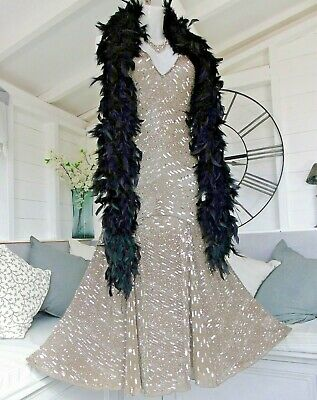 £69.95 • Buy Principles Silk Sequin Beaded Flapper Gatsby Vintage Style 1920's Dress 18