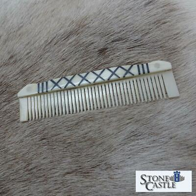 £11.99 • Buy 5  Medieval / Viking Hand Carved Cattle Oxe Comb. Costume, Re-enactment & LARP