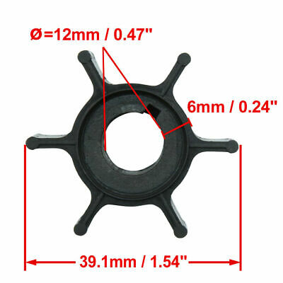 AU12.35 • Buy Water Pump Impeller 6G1-44352-00 For 6HP 8HP Yamaha Outboard 6HP 8HP 2-Stroke