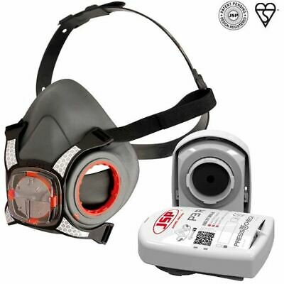 JSP Force 8 Respirator Half Mask - New Size Small - Including P3R Filter • 37£