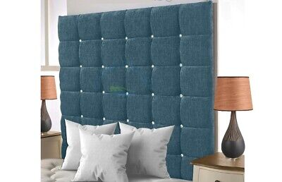Headboard Chenille Bed Head Super Padded 36  High| Single| Double |  Kingsize |  • 64.99£