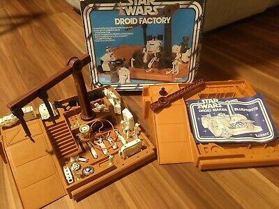 $ CDN200.49 • Buy Kenner Star Wars Vintage 1979 DROID FACTORY Almost Complete, Original With Box