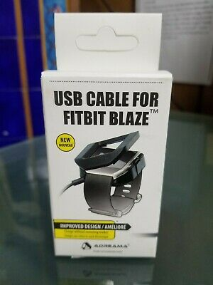 $ CDN7.41 • Buy Fitbit Blaze USB Charger Charging Cradle Cord Wire Cable Dock Stand Replacement