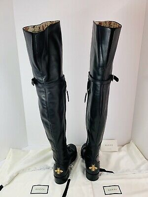 Gucci Dionysus Leather Over The Knee Boots  RRP£1980 New • 655£