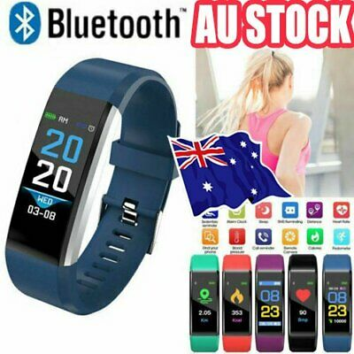AU12.96 • Buy Smart Watch Band Sport Activity Fitness Tracker For Kids Fit Bit Android IOS AT