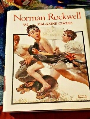 $ CDN15.82 • Buy Large Hardcover Coffee Table Book - NORMAN ROCKWELL - 332 Magazine Covers