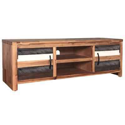 AU264.95 • Buy Wooden Lowboard TV Stand Entertainment Cabinet Console Storage Unit Furniture