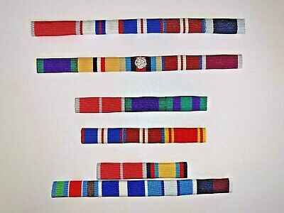 £2 • Buy SEW ON RIBBON BAR - FULL SIZE RIBBON BAR, Please Choose From The Ribbons Listed