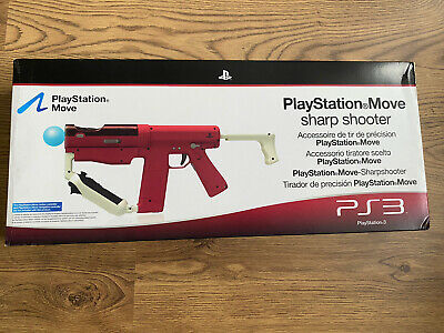 Official PlayStation Move Sharp Shooter Gun For PS3  CECHYA-ZRA1E New Boxed • 40.99£